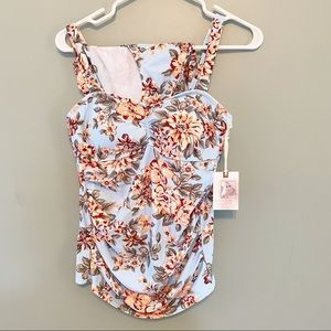 Jessica Simpson Maternity Swimsuit Two Piece NWT